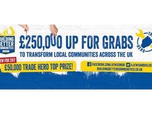 Jewson offers £250k in Building Better Communities 2017