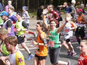 Maximising fundraising at the Virgin Money London Marathon