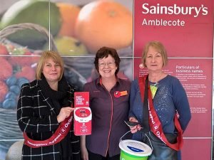 Oxfam trials contactless collecting boxes with Sainsbury's