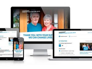Parkinson's UK improves online donation journeys ahead of annual awareness week