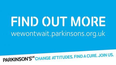 Parkinson's #WeWontWait campaign