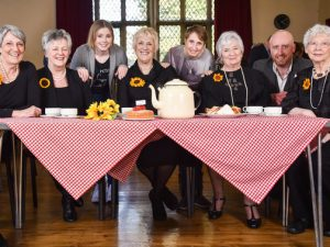 Calendar Girls hold inaugural Tea with the Girls fundraising event