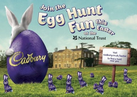 National Trust cadbury easter