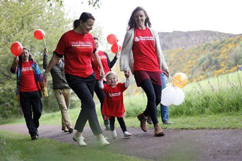 Sick Kids Friends Foundation's Great Strides fundraising walk