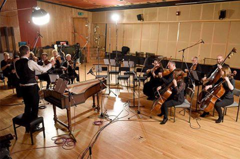 Royal Philharmonic Orchestra plays Coe's version of Vivaldi's Spring