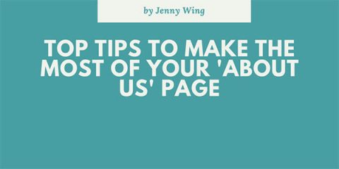 Top tips to make the most of your About Us page