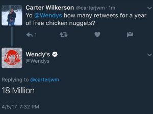 Record breaking chicken nuggets tweet triggers $100k donation to charity