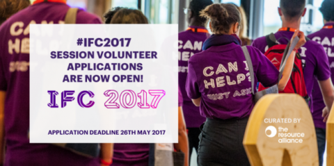 IFC Session Volunteers - apply now