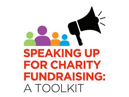 They say 'all politics is local'. That's why we need fundraisers to speak up at this election!