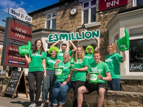 Greene King staff celebrate raising £3m for Macmillan Cancer Support