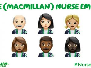 Macmillan Cancer Support calls for a #NurseEmoji on #InternationalNursesDay
