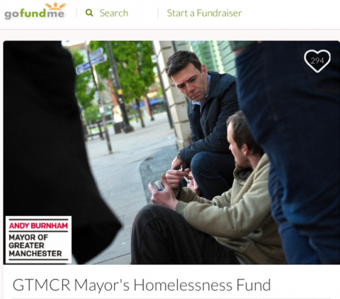 greater manchester homelessness fund