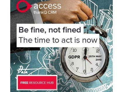 GDPR Resource Hub: be fine, not fined