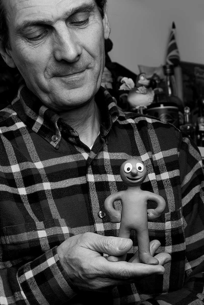 David Sproxton, co-creator of Morph. Photo: Matt Crockett
