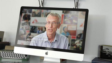 Dr Paul van den Bosch, MSF