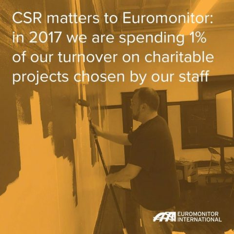 CSR matters to Euromonitor