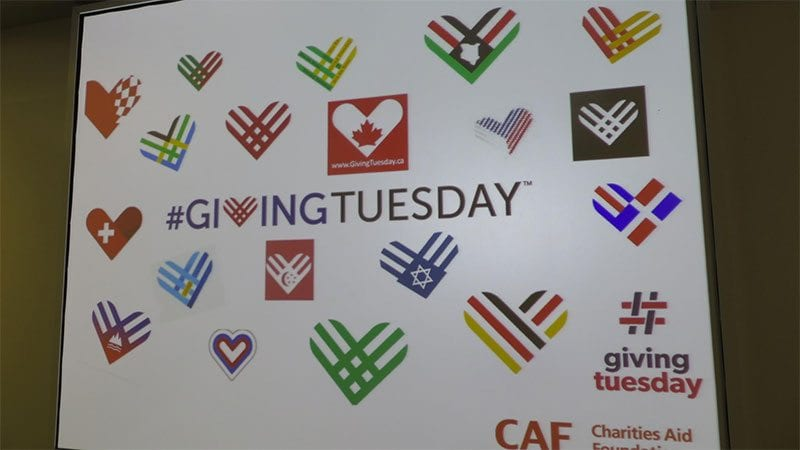 Giving Tuesday goes global