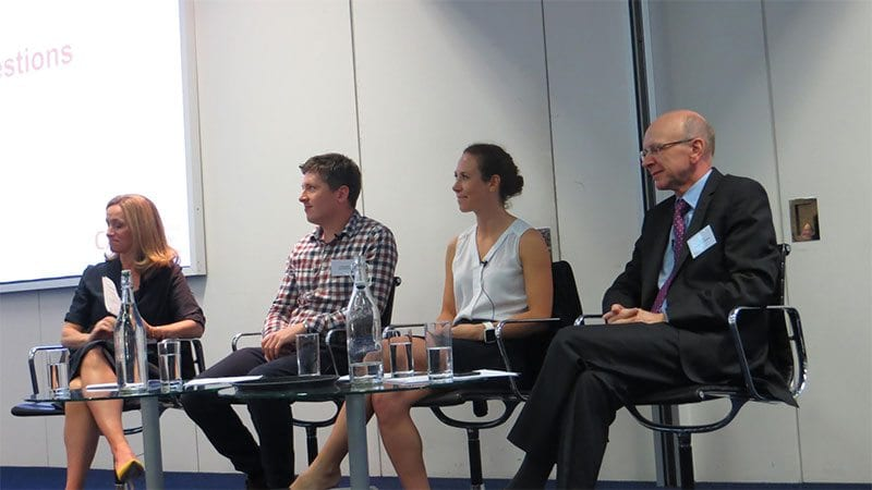 Panel at launch of Giving Tuesday 2017 in London