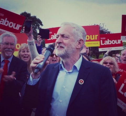 Jeremy Corbyn MP - photo: uklabour on Instagram.com