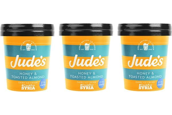 Jude's Honey and Toasted Almond