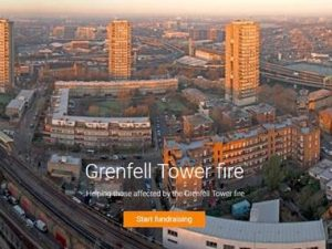 Crowdfunding appeals for Grenfell Tower fire victims raise £200k in hours