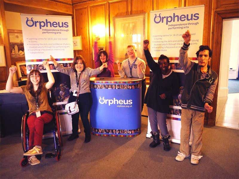 Previous charity competition winners Orpheus