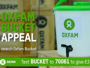 Oxfam's new DRTV ad shows the lifesaving power of the bucket