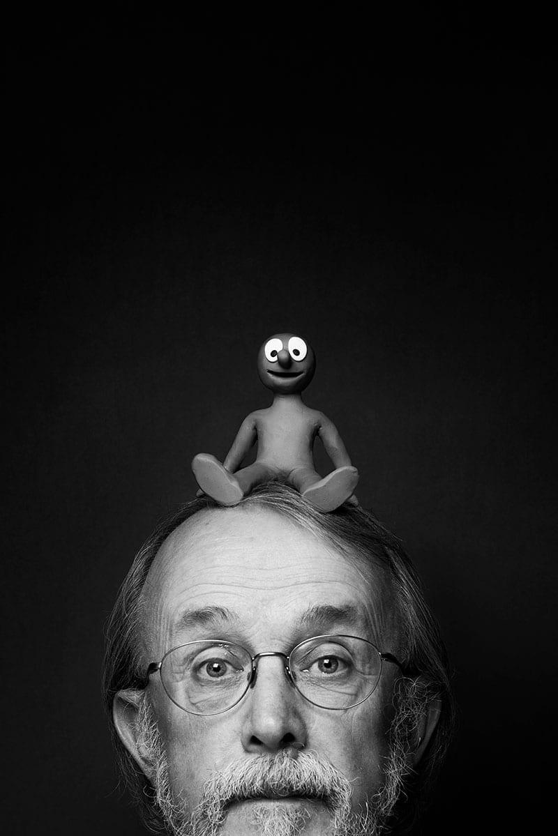 Peter Lord, co-creator of Morph. Photo: Matt Crockett