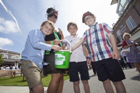 macmillan charity race day 2017