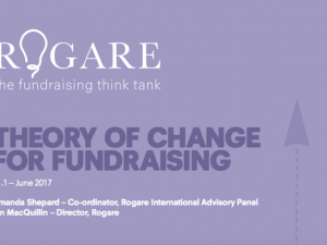 Rogare report calls on fundraisers to stop copying and start questioning