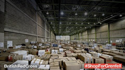 #shopforgrenfell - photo: British Red Cross