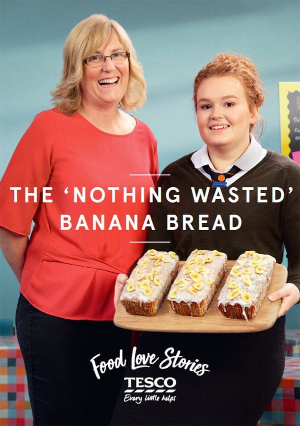 Tesco Nothing Wasted Banana Bread
