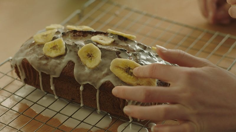 Nothing Wasted Banana Bread, as featured in Tesco's TV advert