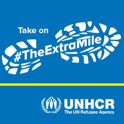 GivePenny's #TheExtraMile for UNHCR