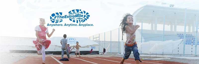#TheExtraMile campaign for UNHCR