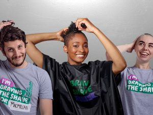 New website for Macmillan's Brave the Shave campaign