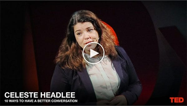 Celeste Headlee TED talk
