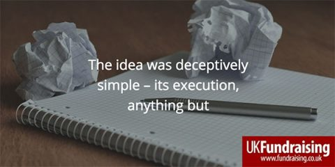 The idea was deceptively simple - quote