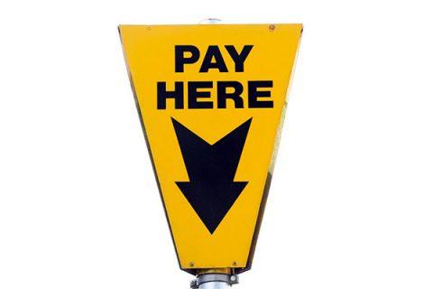 Pay here sign - image: pixabay.com
