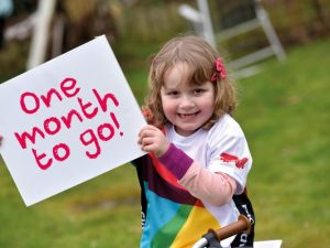 Bloodwise Prudential RideLondon mascot writes letter of encouragement to riders
