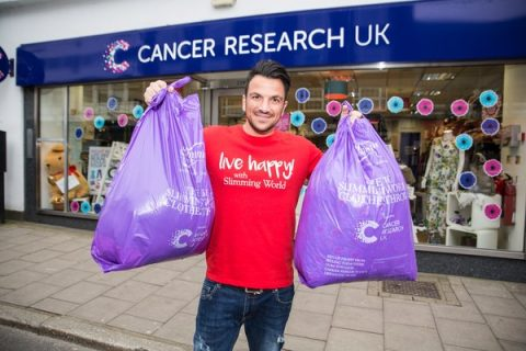 peter andre slimming world