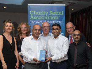 Nisyst, Cats Protection & Barnardo's among Charity Retail Awards 2017 winners