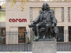Coutts supports Coram again after 210 years