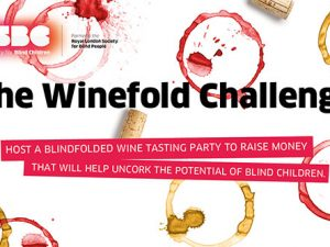 Wine tasting fundraising challenge introduced by Royal Society for Blind Children