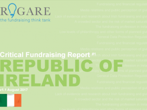Greater collaboration needed between Irish fundraisers, says Rogare report