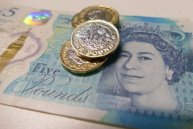 money pounds