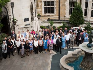 Fundraisers recognised in 2017 CRUK Flame of Hope Awards