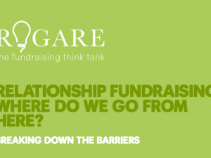 Rogare report identifies barriers to implementing relationship fundraising