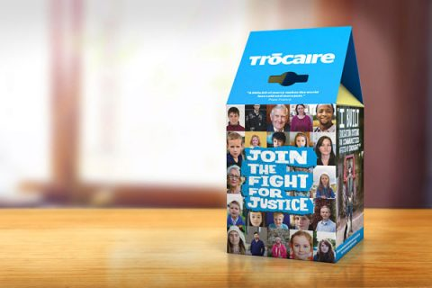 Trocaire collecting box