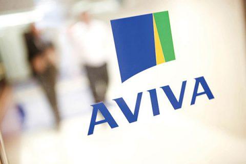 AVIVA signage